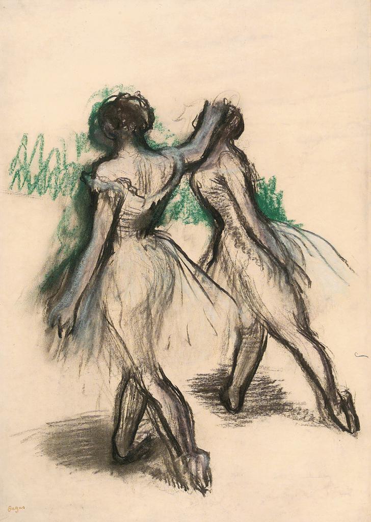 Deux danseuses, Edgar Degas