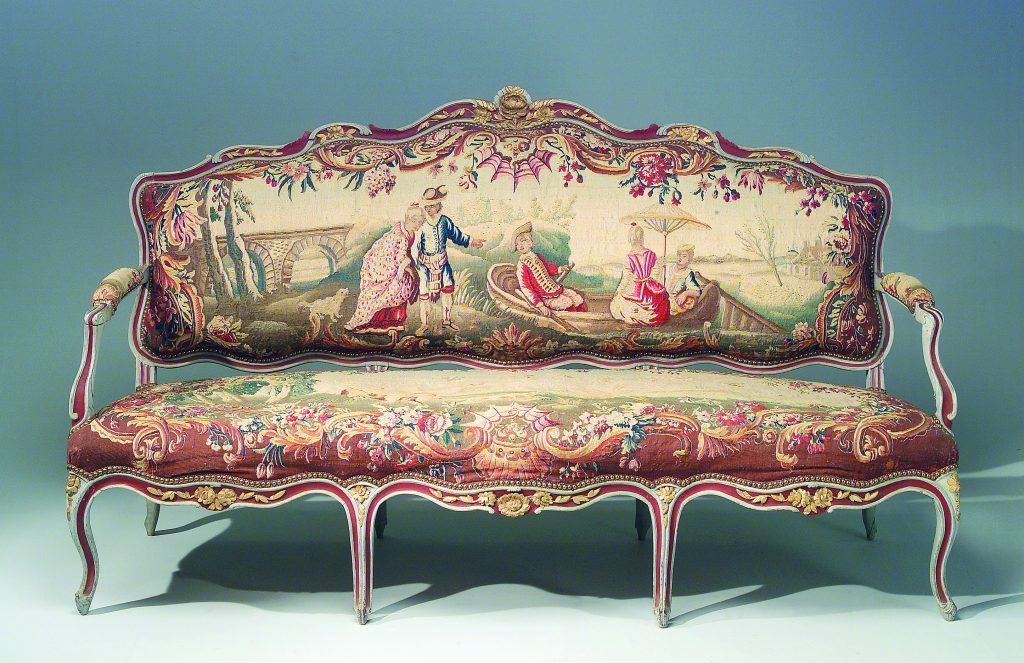 Mobilier de salon, époque Louis XV