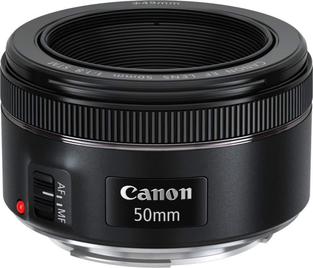 Objectif EF 50mm f/1.8 STM