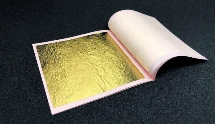 dorure feuille d'or