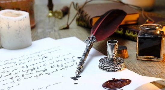 plume calligraphie
