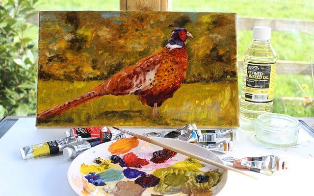 vernis peinture huile