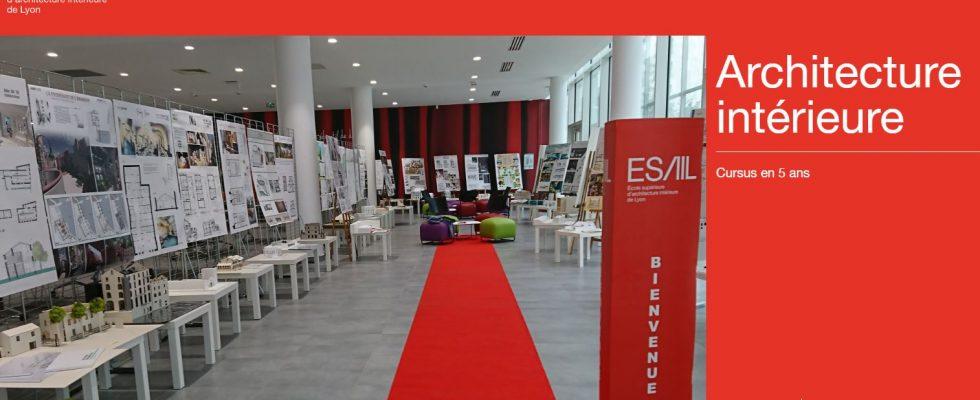 ESAIL école d'architecture intérieure à Lyon