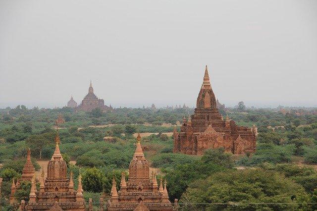 Les temples de la plaine de Bagan