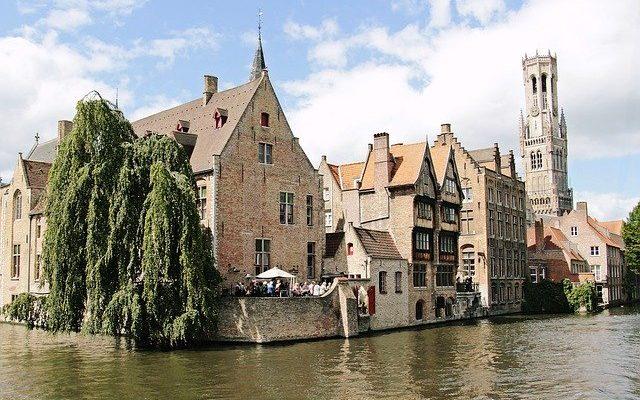 beffroi de Bruges en Belgique