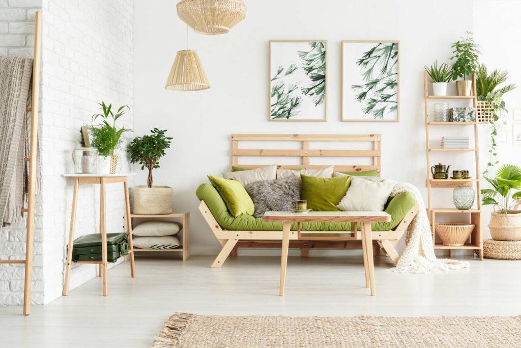 Un style de plus en plus apprécié et des matériaux respectueux de l'environnement