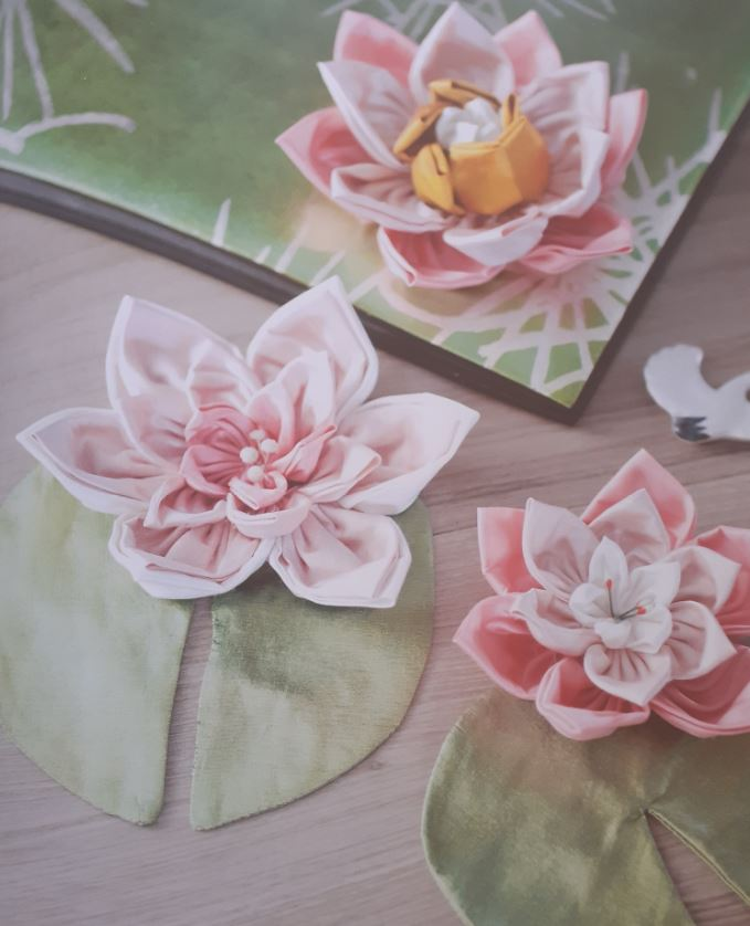 Des fleurs (Kanzashi)