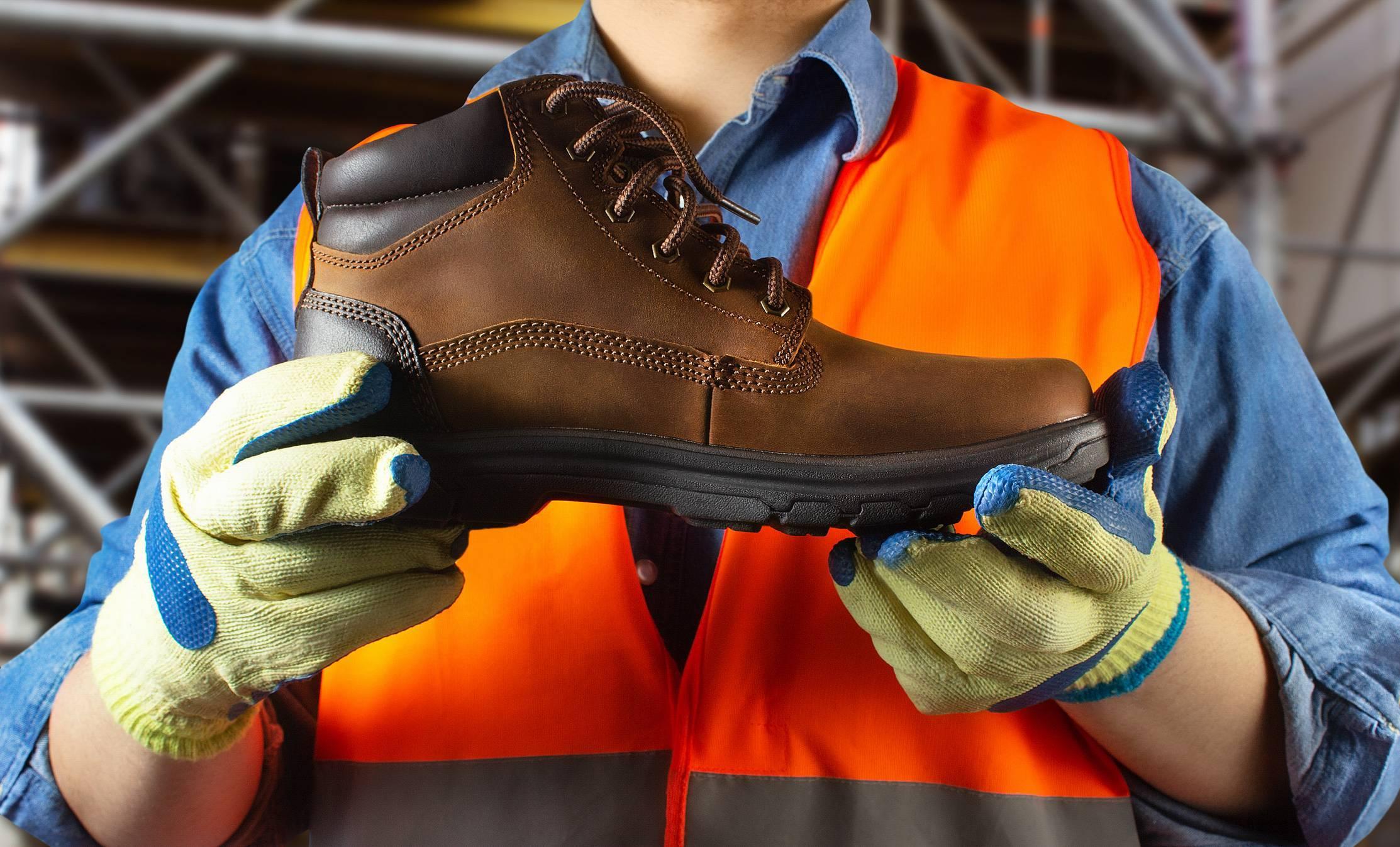 avantages chaussures de sécurité